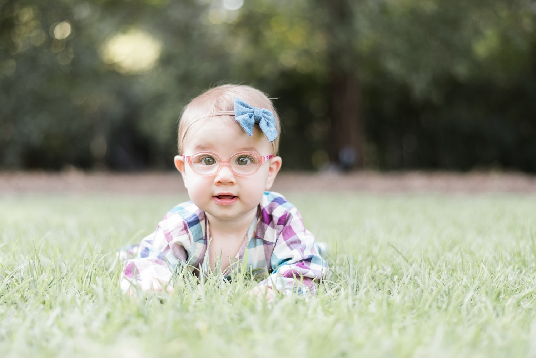 Portrait baby girl