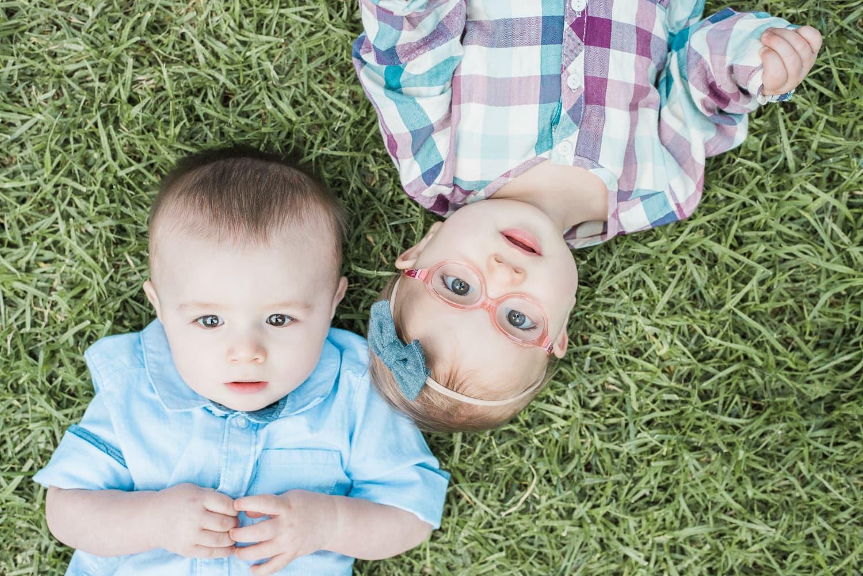 Portrait Twin Babies