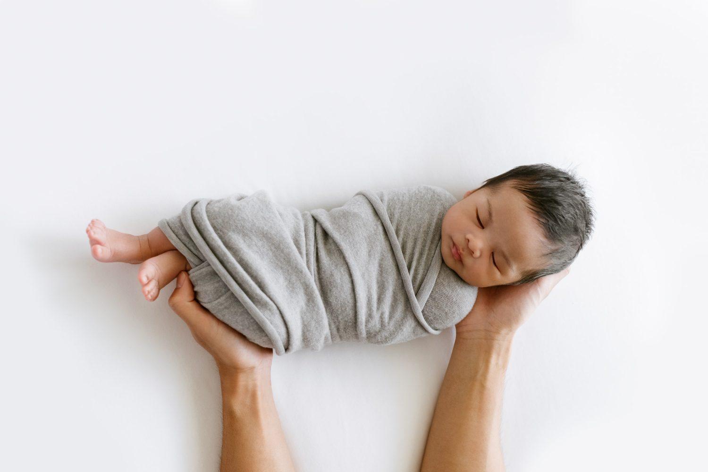 newborn burrito