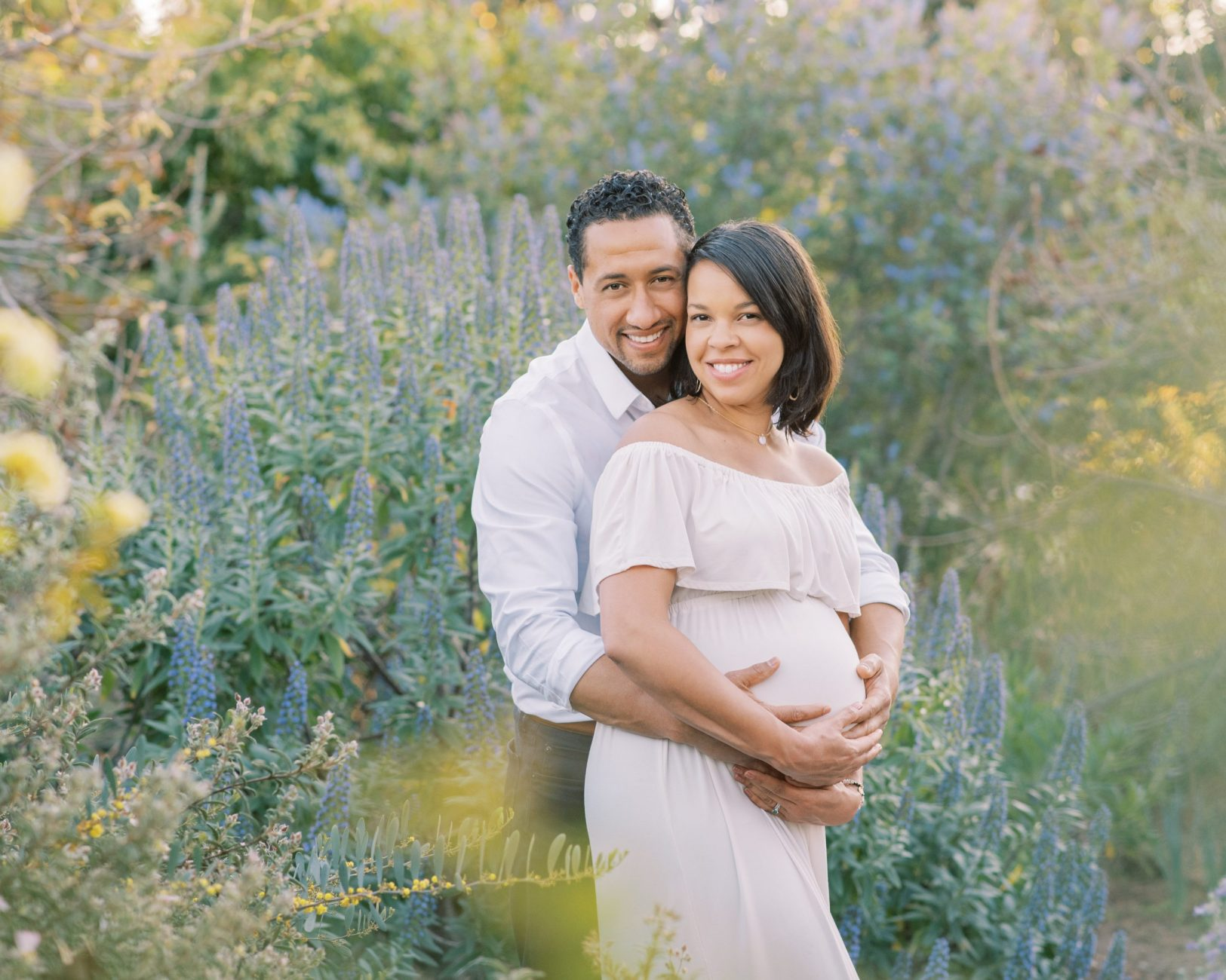 outdoor maternity session los angeles